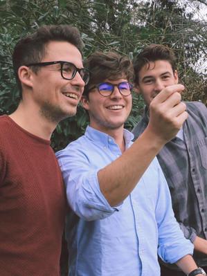 Die Bug Brothers (Philipp, Hendrik, Lukas)