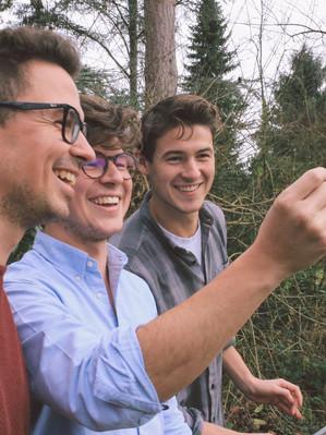 Philipp, Hendrik und Lukas