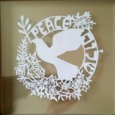 Shalom Papercut