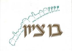 Bar Mitzvah Invite Cover