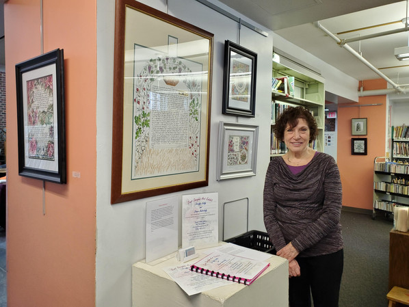 """Duet"" Exhibit now showing at Teaneck Library"