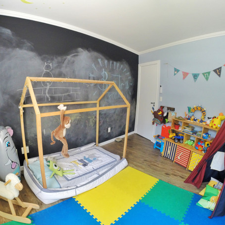 "Quarto ""toddler"" do Bento"