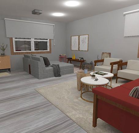 Sala: Modern Farmhouse style