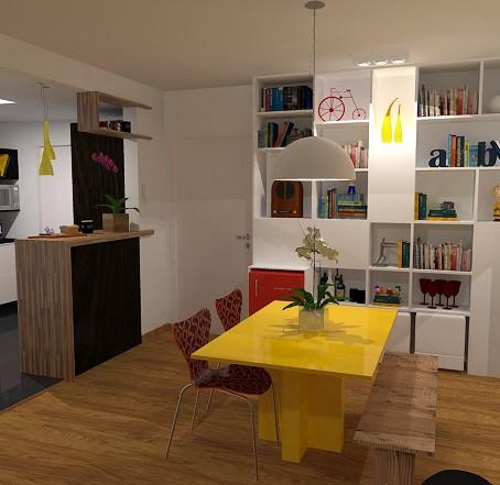 Sala jovem e multifuncional