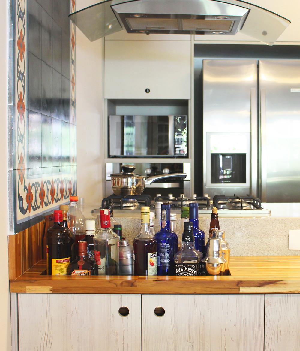 Perfeito mix entre a cozinha tradicional e a contemporânea