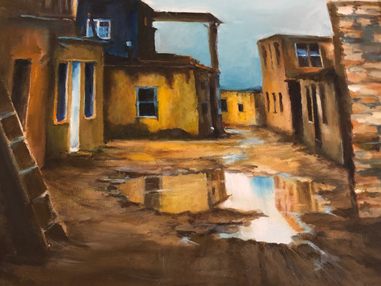 Painting by Lois Shingler