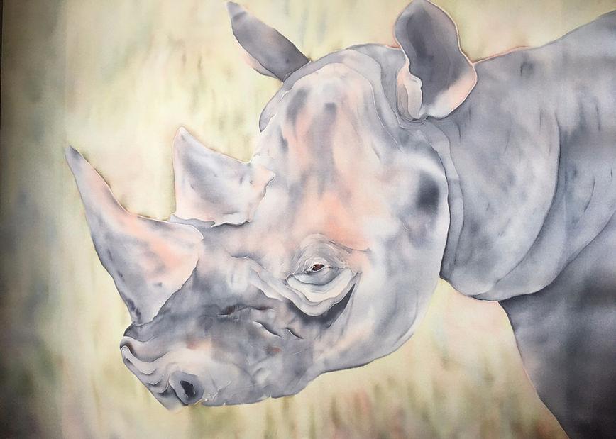 Painting by Joan Monroe