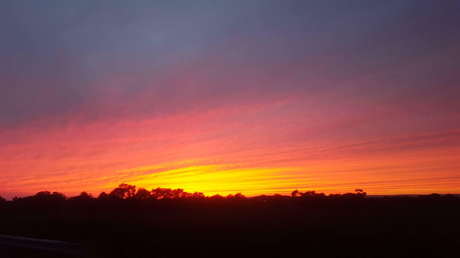 Camp-Sunset