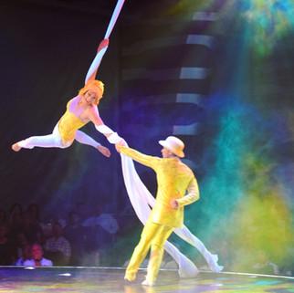 Cirque du Soleil at Sea's Viaggio - Sophie Impey