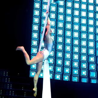 Cirque du Soleil at Sea's Sonor - Claudia Boileau
