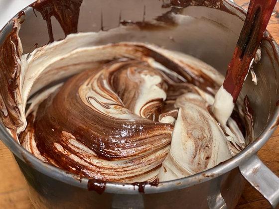 עוגת שוקולד פאדג' ללא קמח