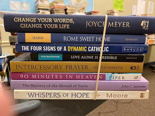 Religion- prayer, History, afterlife, Christian Life
