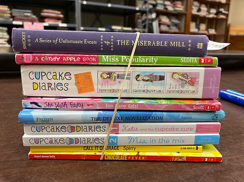 Young Readers - Cupcake Diaries, Frozen, other fiction