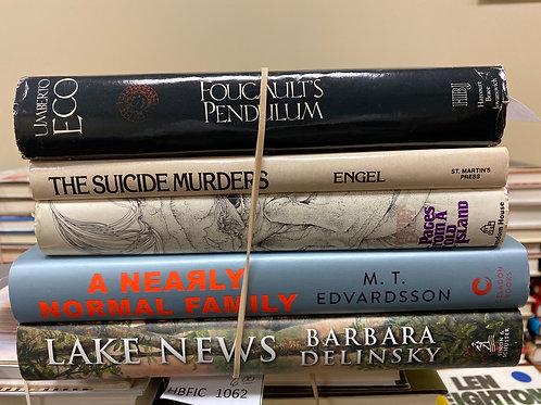 hardback Fiction- Eco, Engel, Exley, Edvardsson, Delinaky