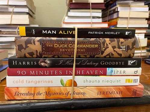 Religion - devotional , autobiography , death, men, growth