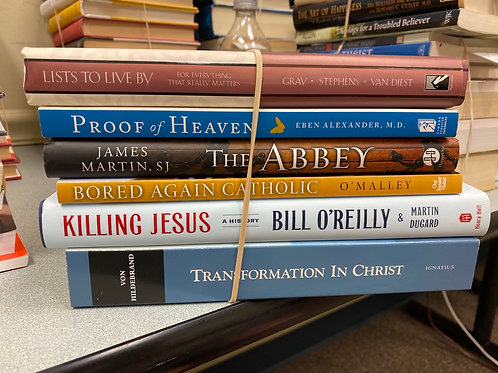 Religion - Christian Life, theology, history, afterlife, Lists,