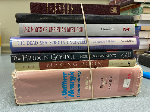 Religion - Commentary, Christian  Mysticism, Dead Sea Scrolls,