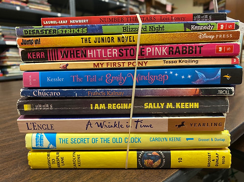 Young Readers - Nancy  Drew mysteries, L'Engle, Lowery, Others