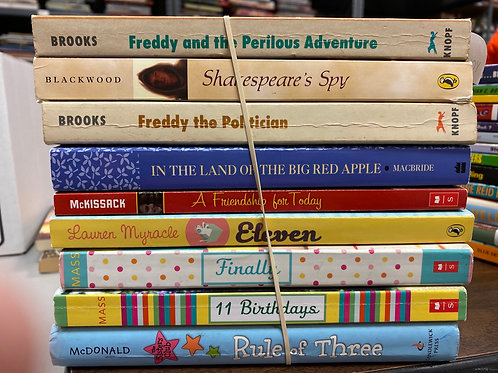 Young Readers  - Freddy Books,  miscellaneous authors
