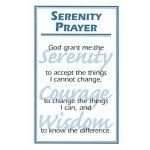 Serenity Prayer Card M-26