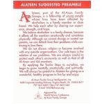 Alateen Program Card M-18