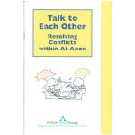 Talk to Each- Resolving Conflict S-73