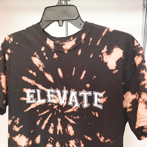 Bleached Tie Dye Elevate T-Shirt