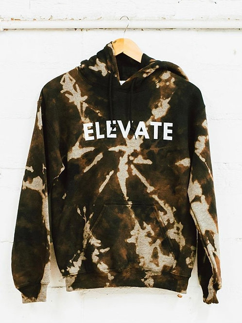 Bleached Tie Dye Elevate Sweatshirt