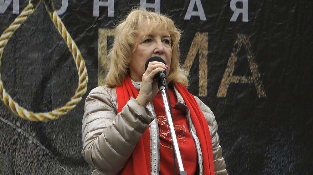 Выступление Ольги Ходуновой