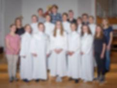 Fotograf Marie de Verdier, Konfirmationsfoto, Noltorpskyrkan, Alingsås, 2017, Porträtt, Gruppfoto