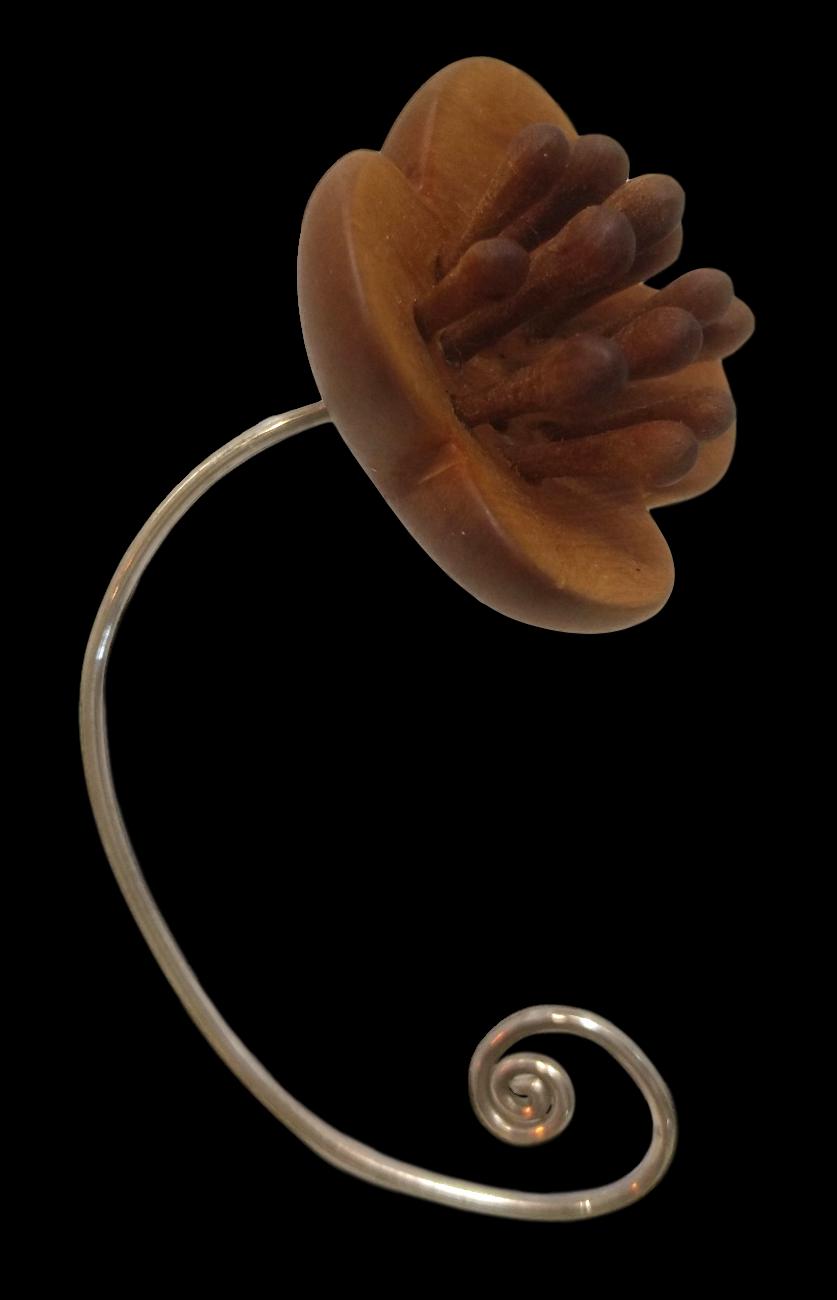 Huon Pine & Blackwood Ear Flower