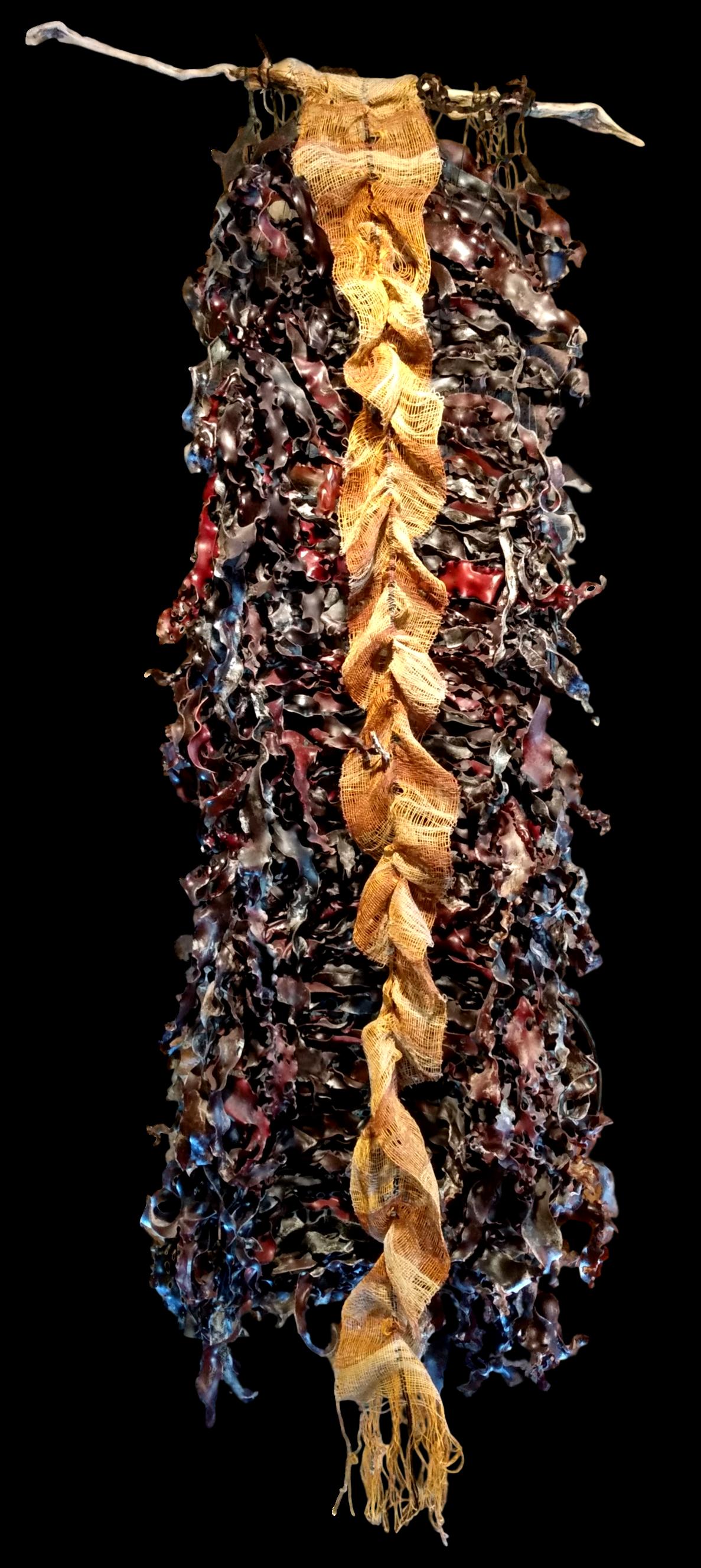 """""""Cascade"""" Kelp & Linen"""