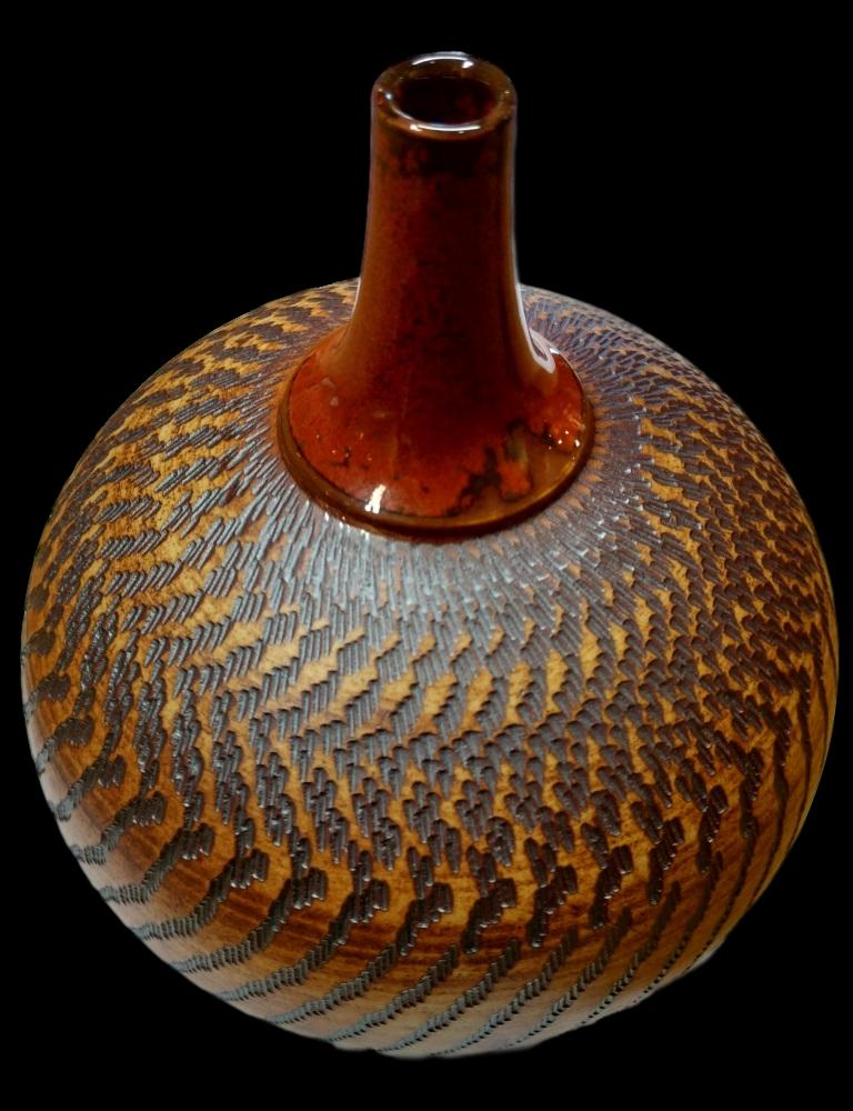 Large Chattered bottle