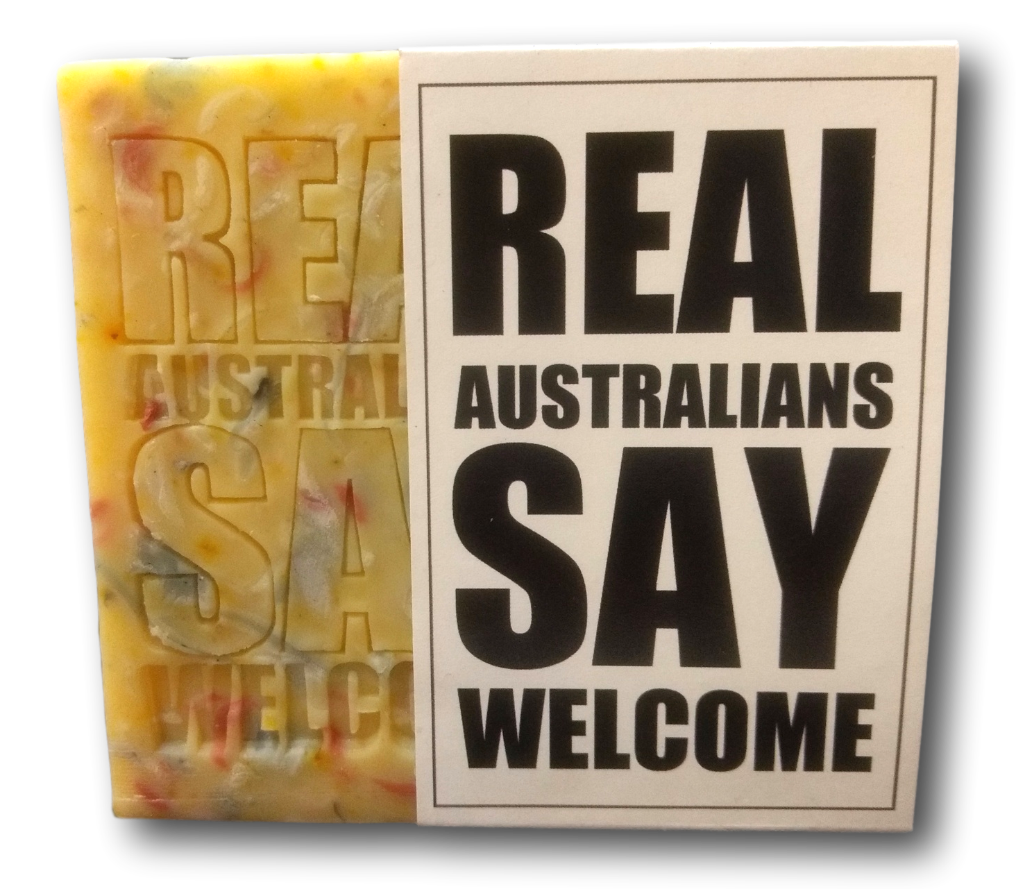 REAL AUSTRALIANS SAY WELCOME 120g