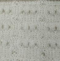 Cream Scarf Alpaca Wool