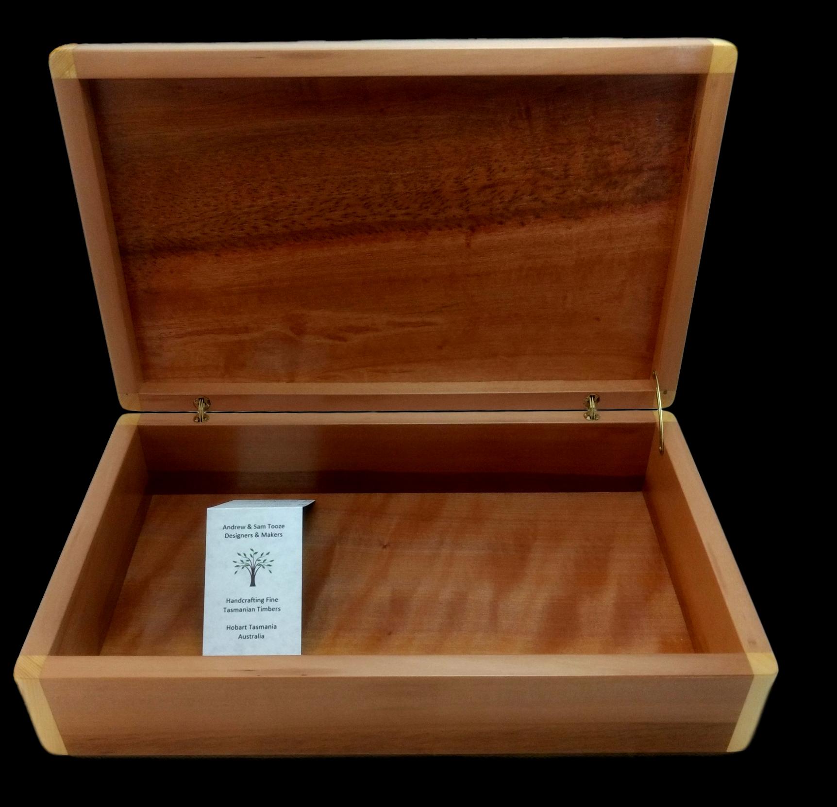 Myrtle & Huon Pine Box
