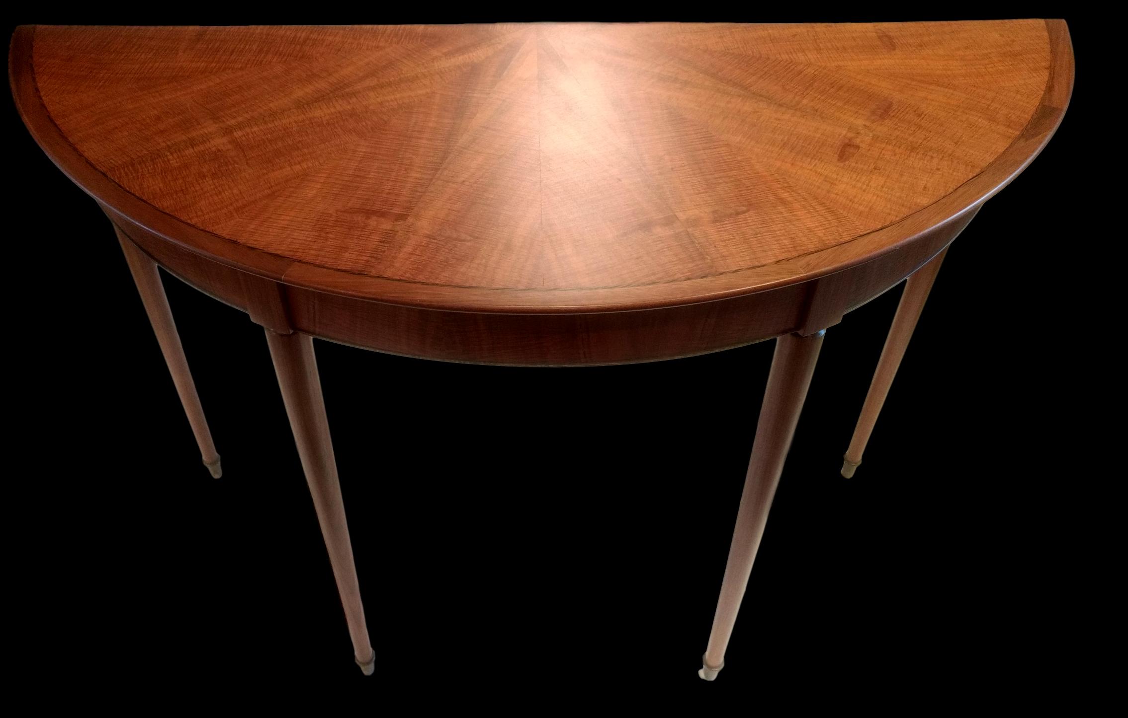 Blackwood Demi Lune Table