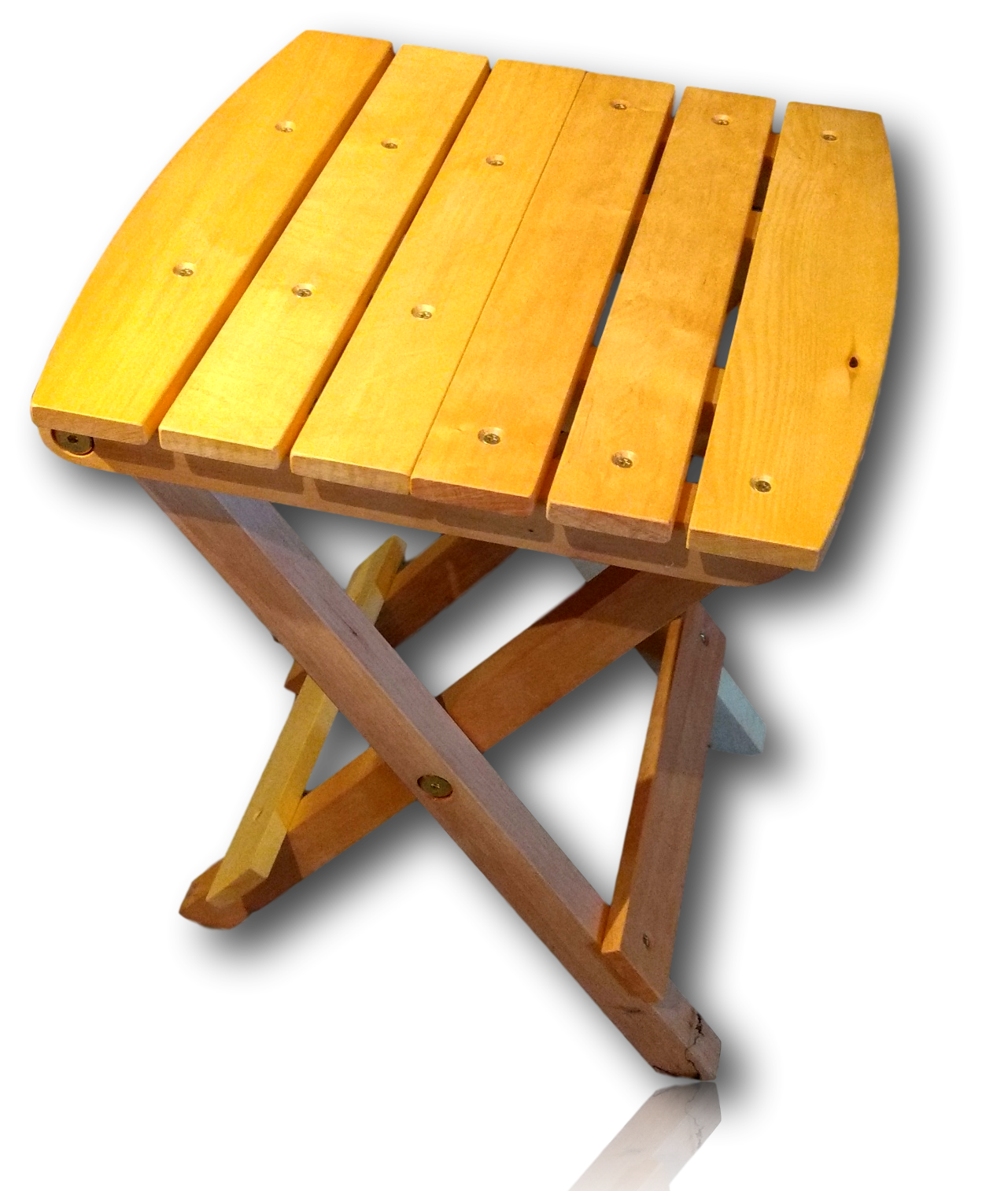 Huon Pine Folding Picnic Table