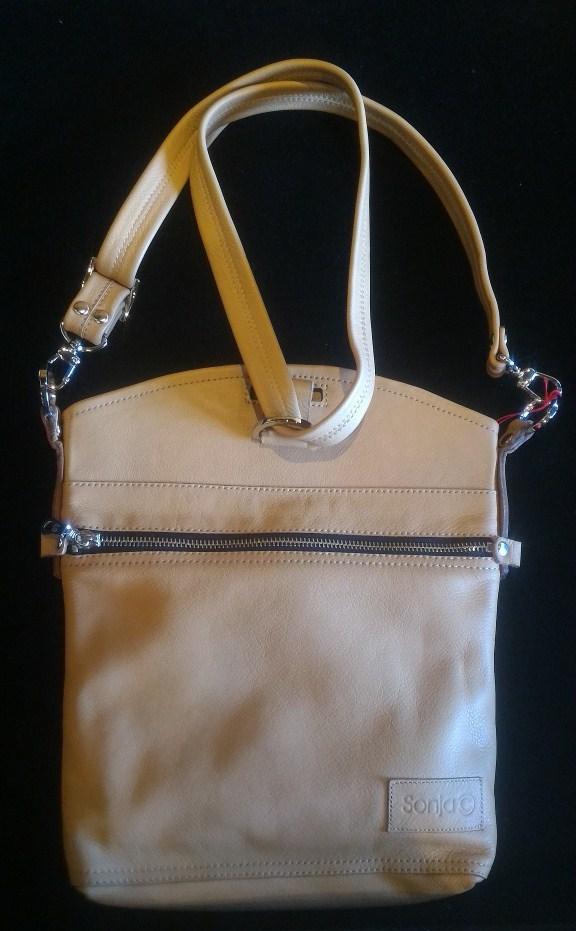 Leather handbag/backpack