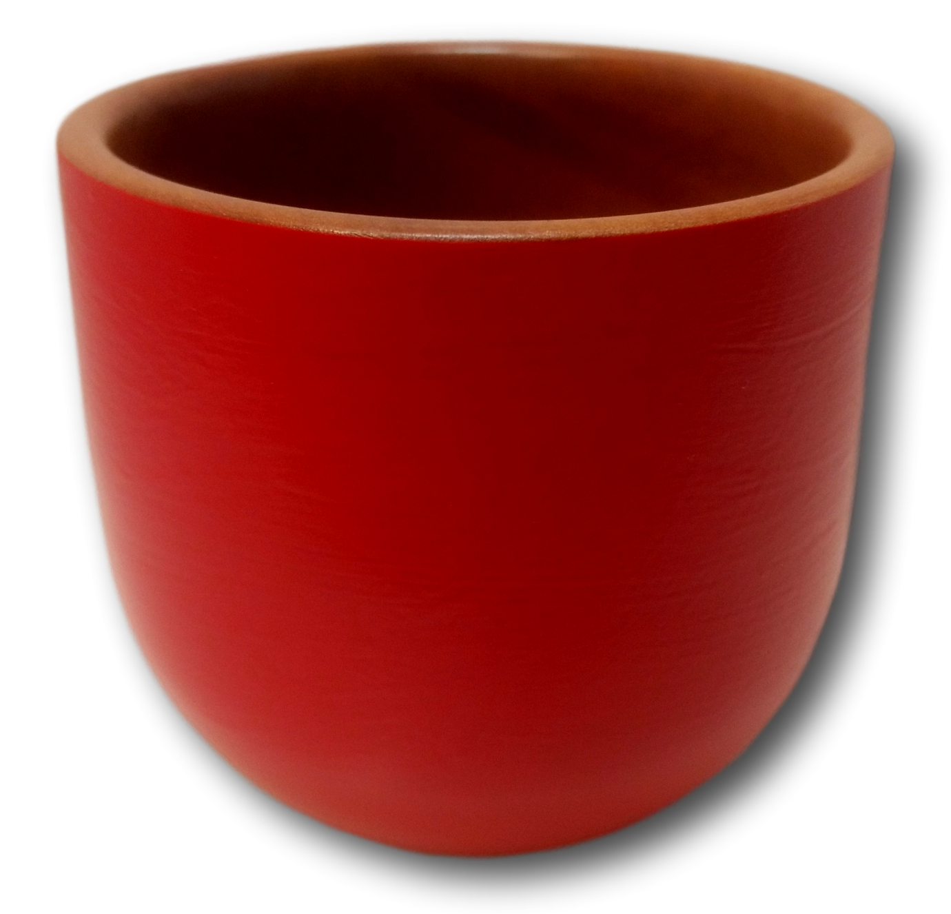 Med Red Painted Pot Huon