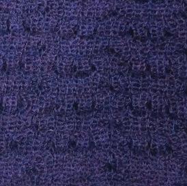 Dark Purple Scarf Alpaca Wool