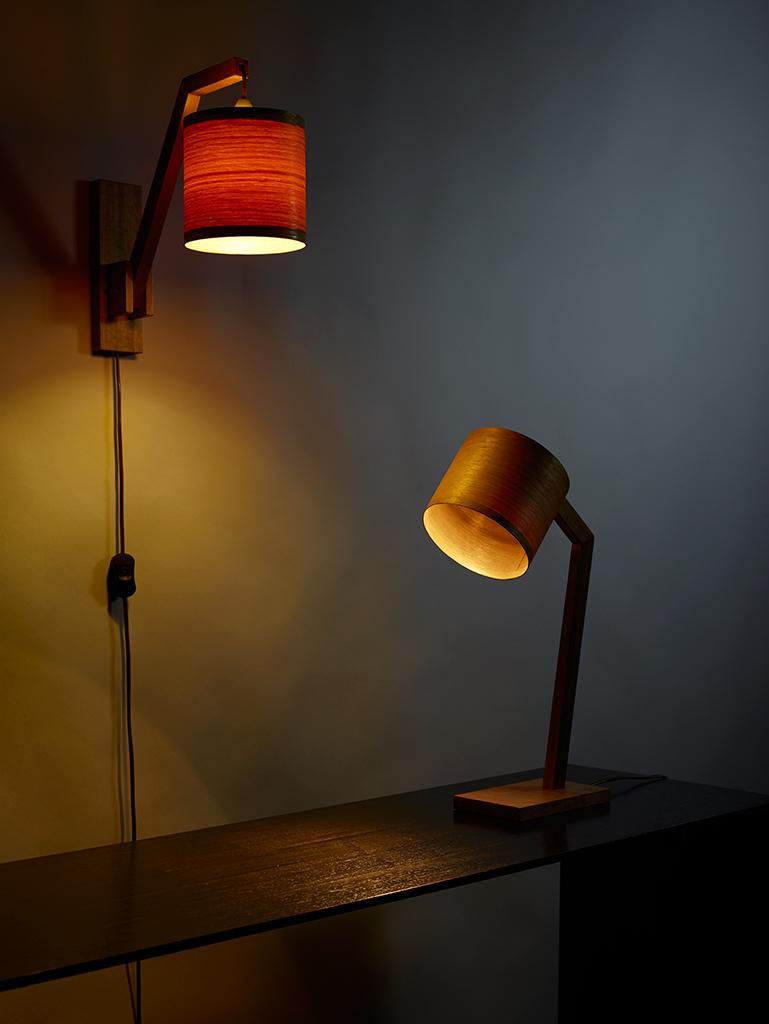 $310 Wall lamp $330 Table lamp