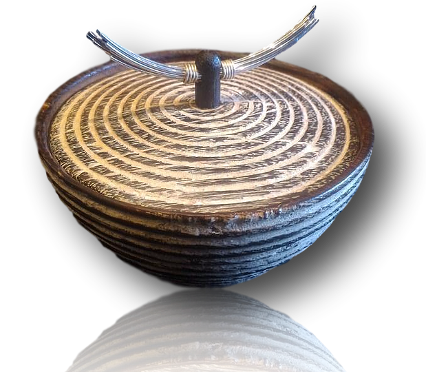 Burnt Timber Wishing Pot
