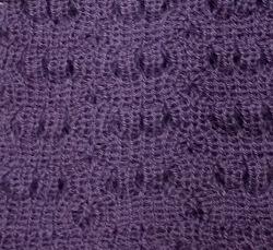 Soft Grape Scarf Alpaca Wool