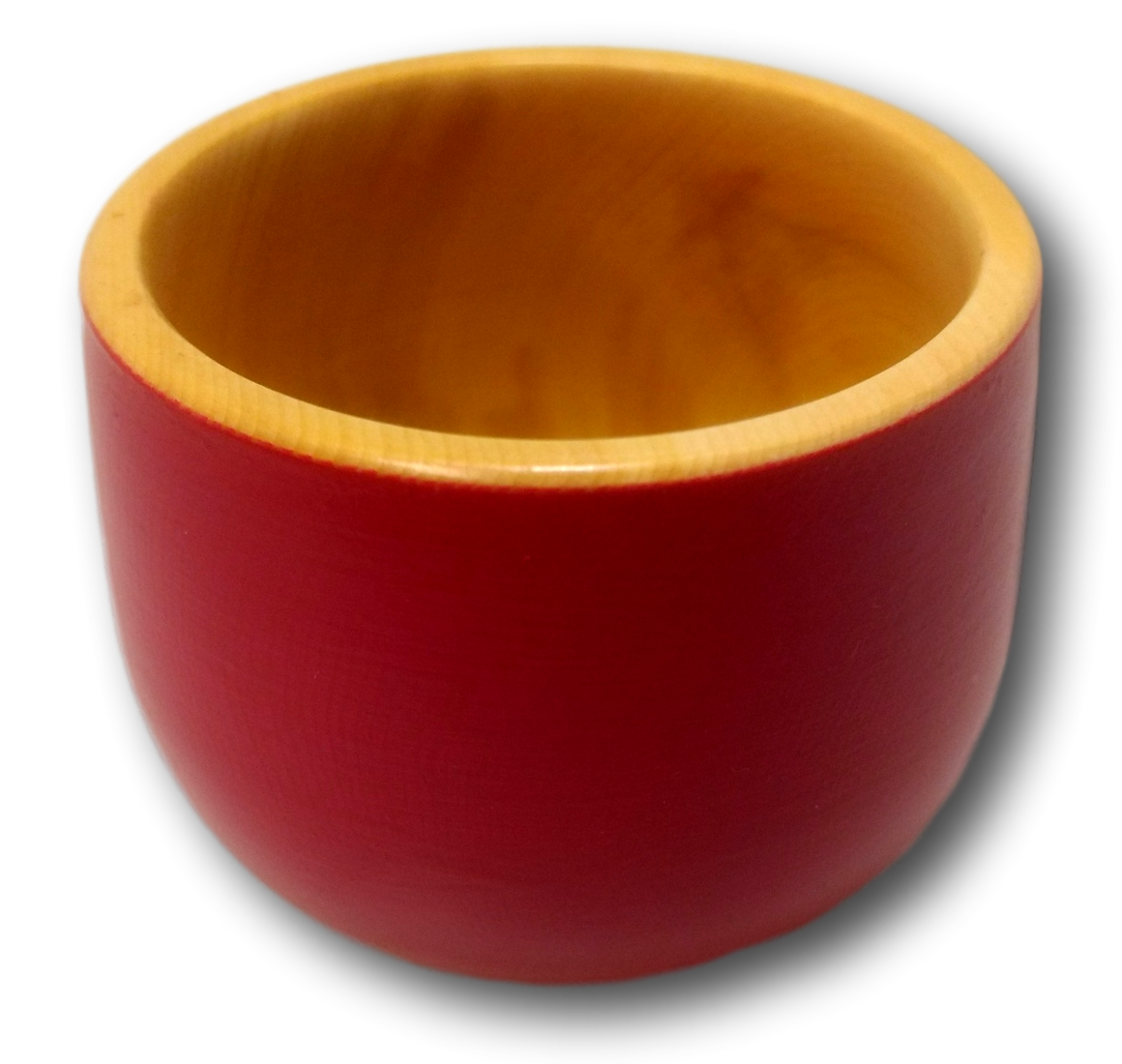 Sm Red Painted Pot Huon