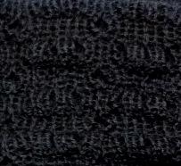 Black Scarf Alpaca Wool