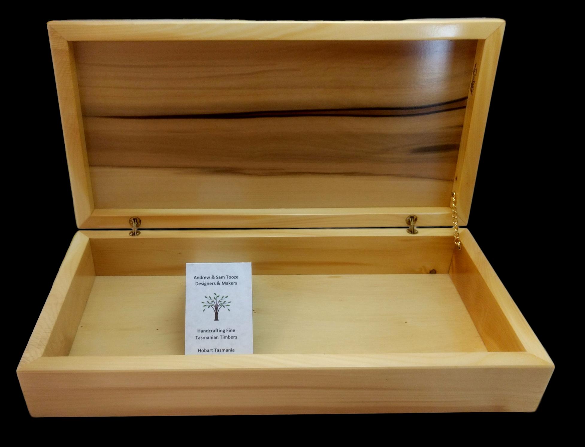 Sassafras & Huon Pine Box