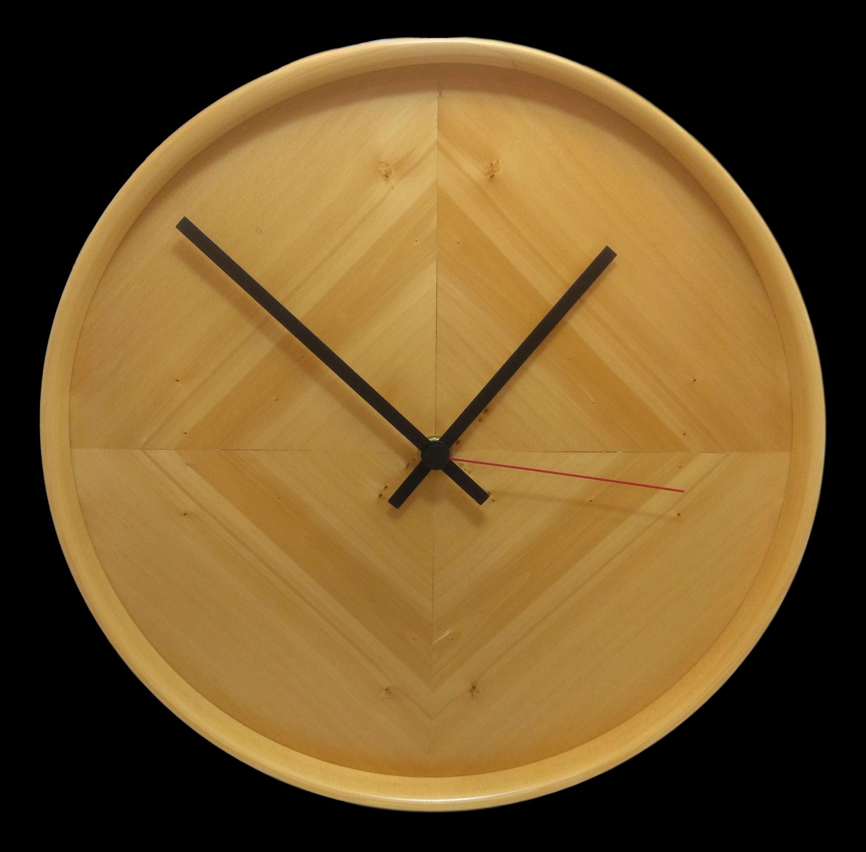 Huon Pine Tic Tok Clocks