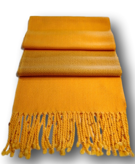 2 Ply Yellow Twill Cotton & Wool