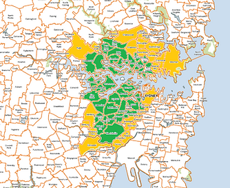 Alongshore Removals Area in the Inner West of Sydney